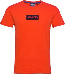 cl workwear tee 220 t-shirts short-sleeved orange superdry