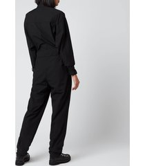 kenzo women's workwear jumpsuit - black - uk 12/eu 42
