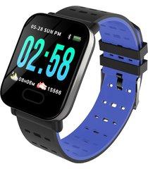 bakeey m20 1.3 \'pantalla grande real hora hr presión arterial de oxígeno monitor reloj inteligente de larga espera - azul
