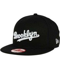 new era brooklyn dodgers b-dub 9fifty snapback cap