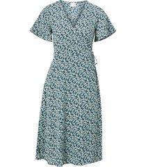 omlottklänning vilovie s/s wrap midi dress