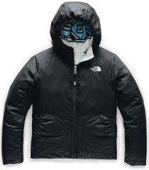 chaqueta reversible perrito negro the north face