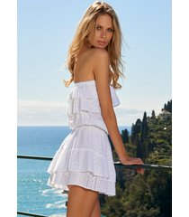 melissa odabash mia dress white