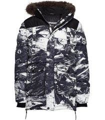 sd explorer parka parka jas multi/patroon superdry