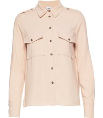 louise shirt blouse lange mouwen roze twist & tango
