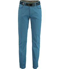 bos bright blue chino kobaltblauw modern fit 2q.1804/064