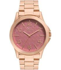 relógio condor feminino eterna bracelete rosé - co2036kug/k4n co2036kug/k4n