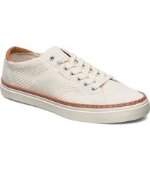prepville low lace shoes låga sneakers vit gant
