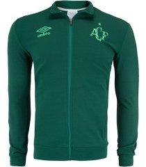 jaqueta da chapecoense hino 2019 umbro - masculina - verde