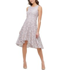 tommy hilfiger high-low floral lace dress