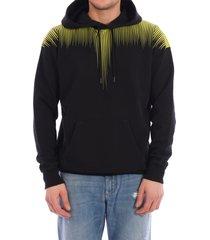 marcelo burlon hoodie wings black
