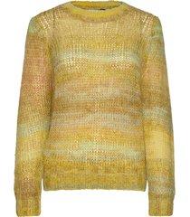 lotus knit blouse gebreide trui geel just female