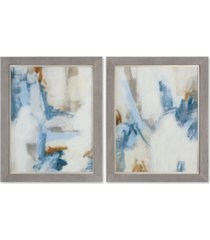 uttermost intermittent 2-pc. abstract modern wall art set