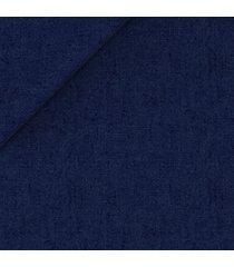 pantaloni da uomo su misura, solbiati, puro lino blu, primavera estate | lanieri
