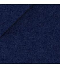 giacca da uomo su misura, solbiati, puro lino blu, primavera estate