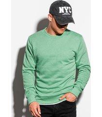 ombre sweater heren klassiek mint