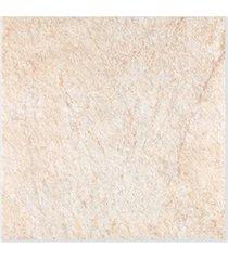 piso cerâmico granilhado borda bold jardim sand bege 53x53cm