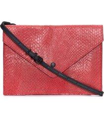 bolsa feminina ocara envelope - vermelho