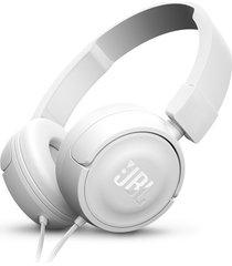 audifonos diadema plegable jbl t450 + blanco