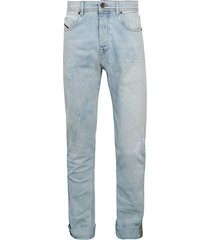 type 2830 faded graffiti jeans