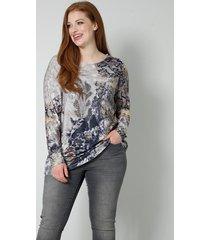 shirt sara lindholm beige::grijs