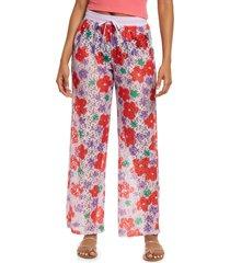 bp. be proud by bp gender inclusive laci drawstring pants, size xx-small - purple