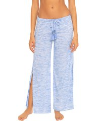 becca whisper cover-up pants, size large in peri at nordstrom