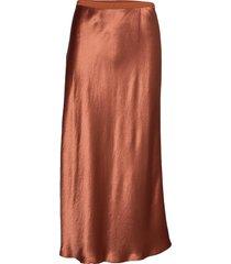 alessio knälång kjol orange max mara leisure