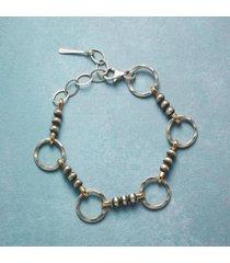 dots & circles bracelet