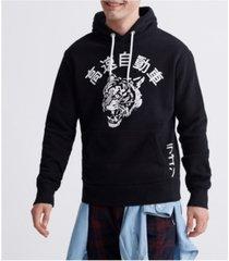 superdry men's urban varsity tokyo hooded sweatshirt
