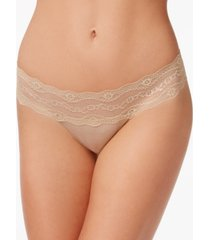 b.tempt'd by wacoal b.adorable lace-waistband thong underwear 933182