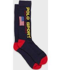 polo ralph lauren polo sport socks strumpor navy