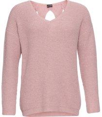maglione con cut-out (rosa) - bodyflirt