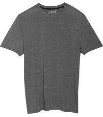 awearness kenneth cole men's awear-tech modern fit crew neck short sleeve tee dark gray - size: medium