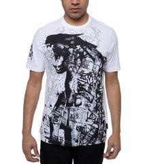 sean john men's panther proof graphic t-shirt