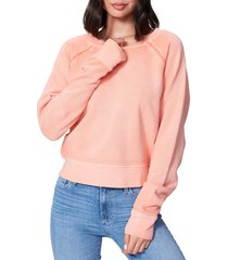 women's paige daytona braid trim sweatshirt