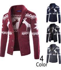 men's sweater with reindeer