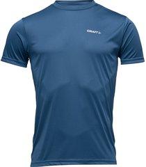 craft prime tee m view t-shirts short-sleeved blå craft