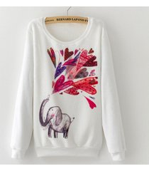 sueter soft con elefante