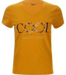 camiseta cool color amarillo, talla l