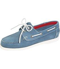 skor babista ljusblå