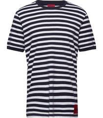 duesday t-shirts short-sleeved blå hugo