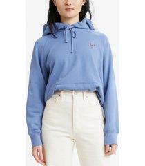 levi's fleece sport hoodie