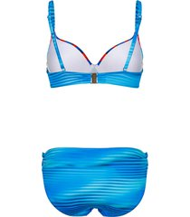 bikini med reglerbara axelband sunflair flerfärgad