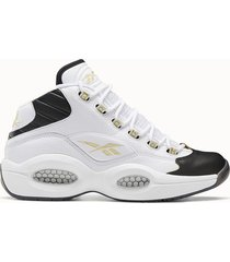reebok sneakers question mid colore bianco