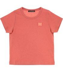 acne studios red t-shirt
