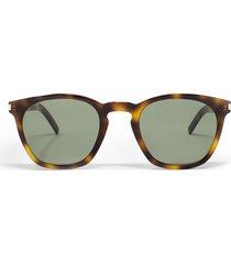 saint laurent saint laurent sl28 slim 002 sunglasses