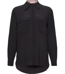 rubi långärmad skjorta svart custommade