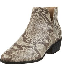 bota texana animal print moleca