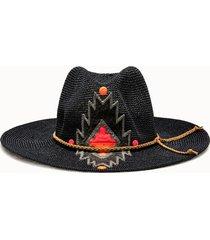 sparti cappello western geometria messicana